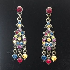 Jewelry - 💫💎Sparkly Colorful Glass Earring💎💫